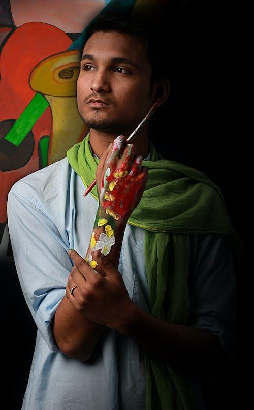 Imagine de stoc gratuită din desen, haine bărbătești, indian, lume
