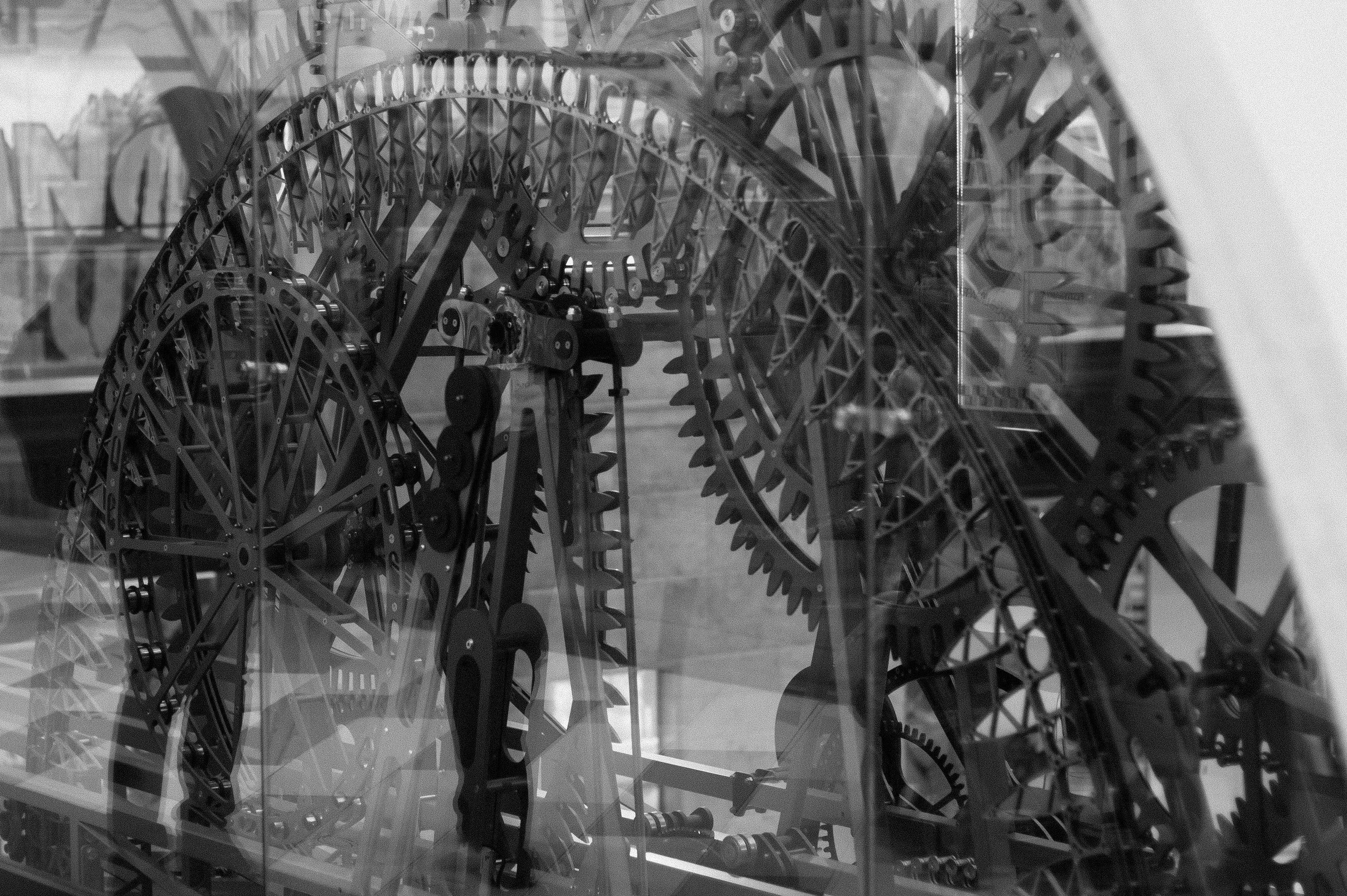Free stock photo of B/W, behind the glass, black, black and white