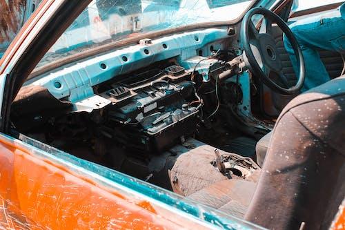 Ingyenes stockfotó autó, autóipar, elhagyatott, hulladék témában