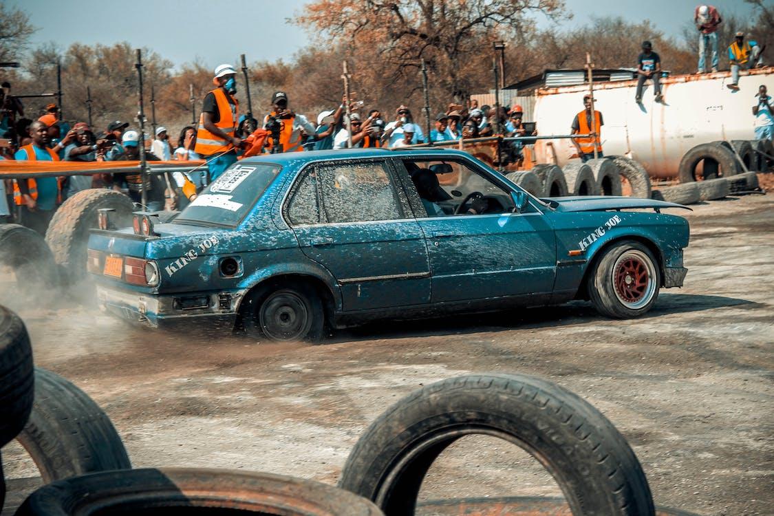 bil, dagtimer, drag race