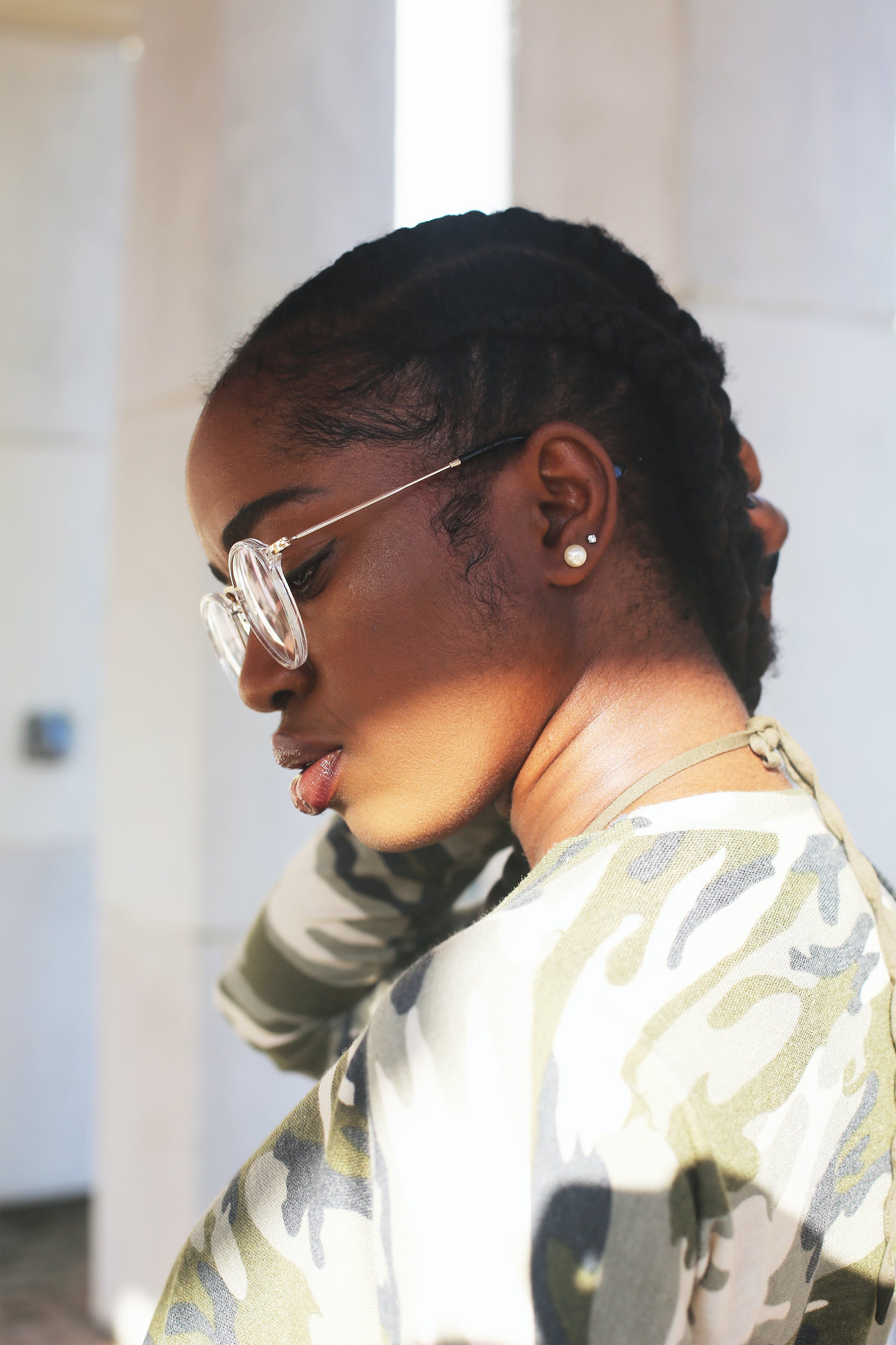귀걸이, 땋다, 매력적인, 모델의 무료 스톡 사진