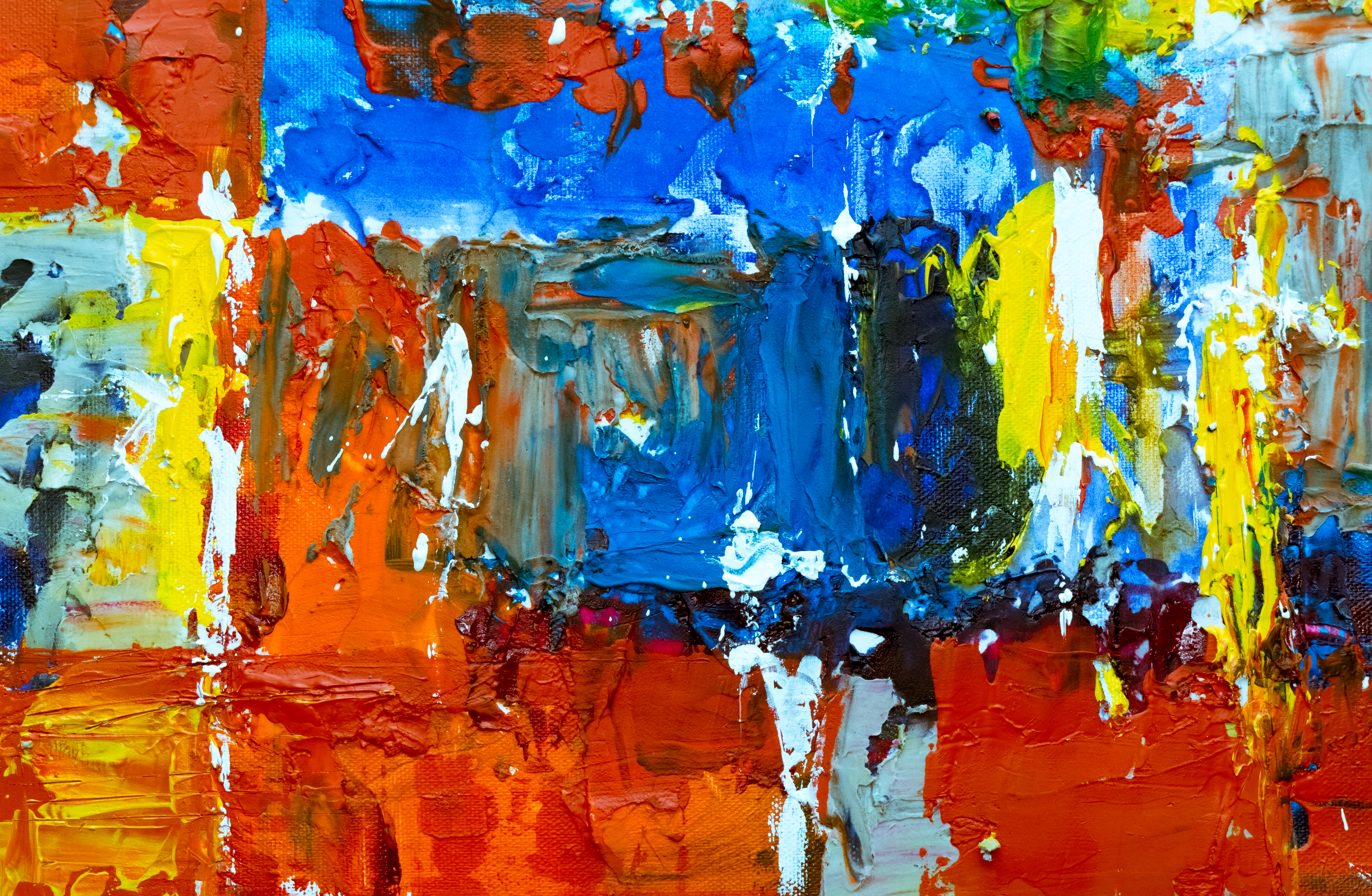 Photo of Abstract Painting