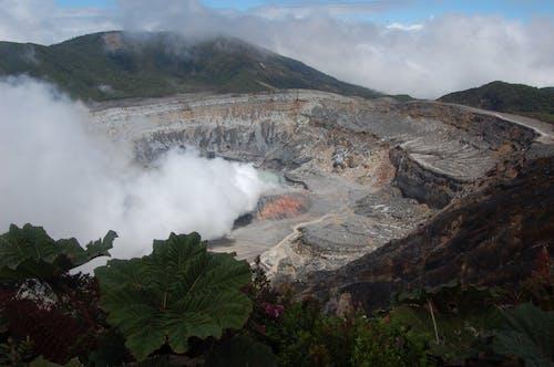 Gratis arkivbilde med poas volcano