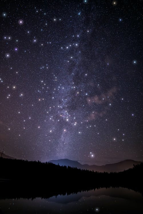 Scenic View Of Night Sky With Stars