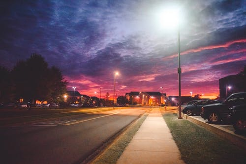 Free stock photo of colorful, evening sky, hope, lamps