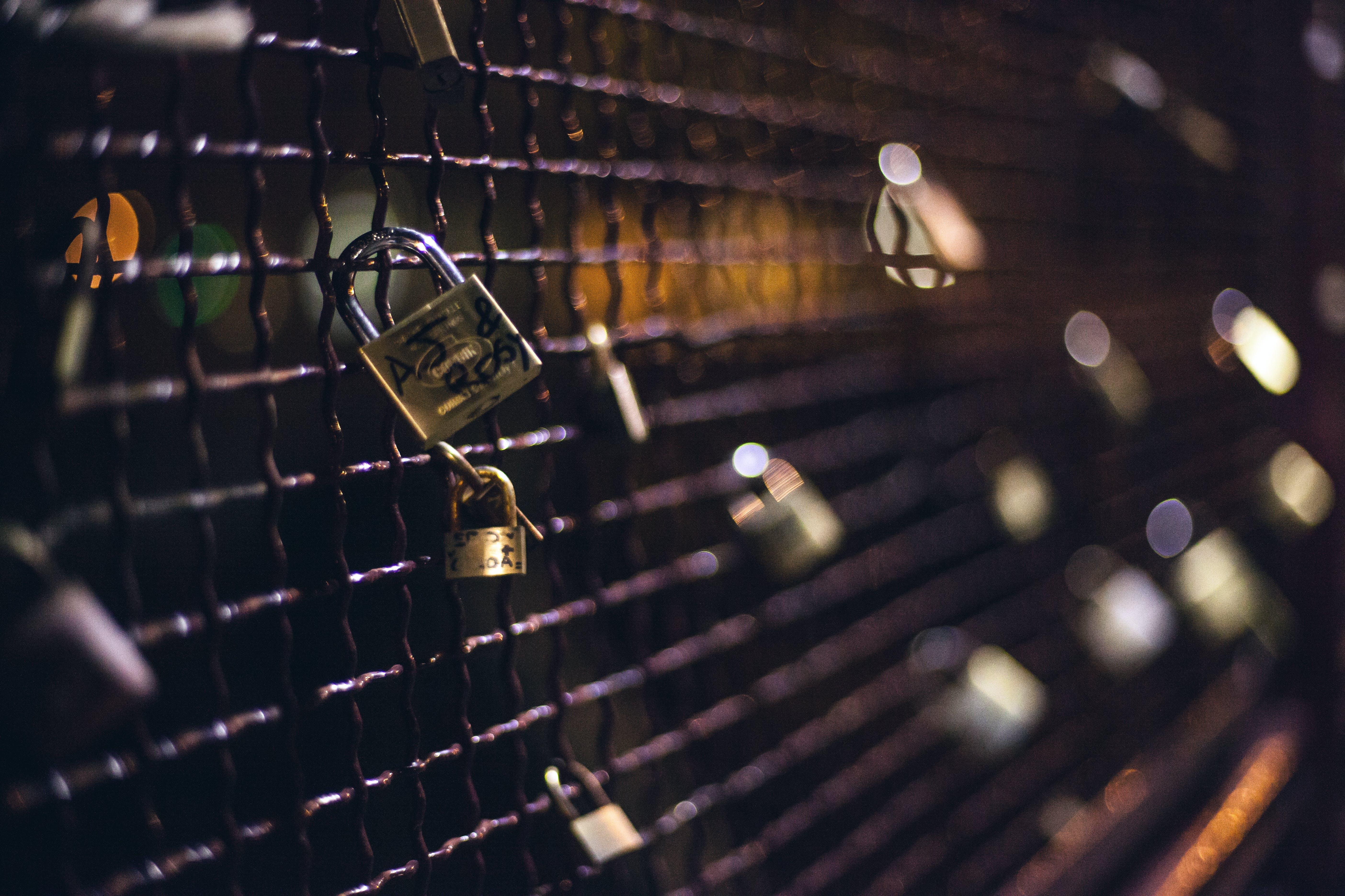 amour, fence, iron