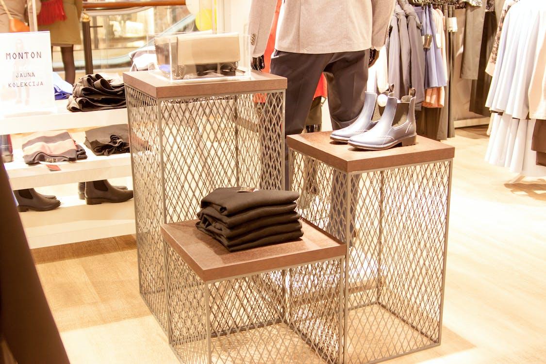 clothes rack, steel