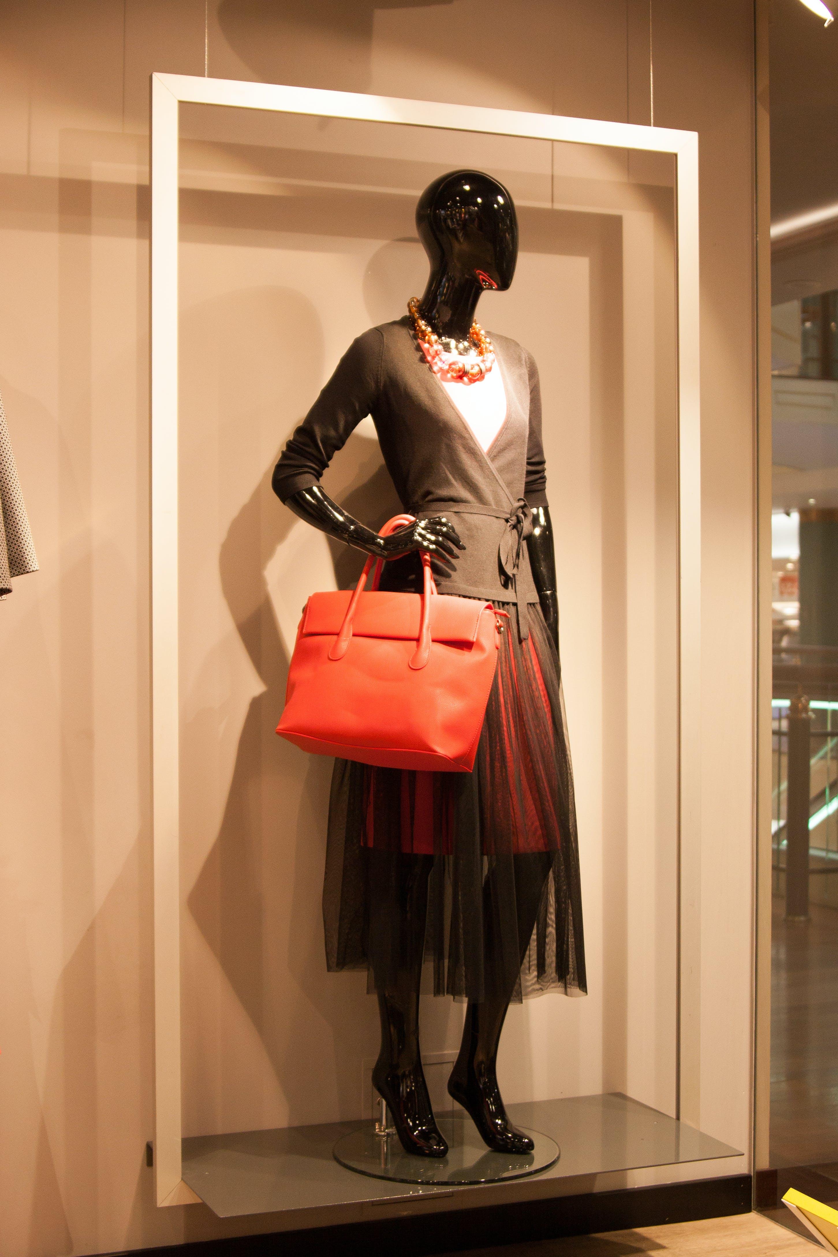 Free stock photo of clothingshop, manequin, woman