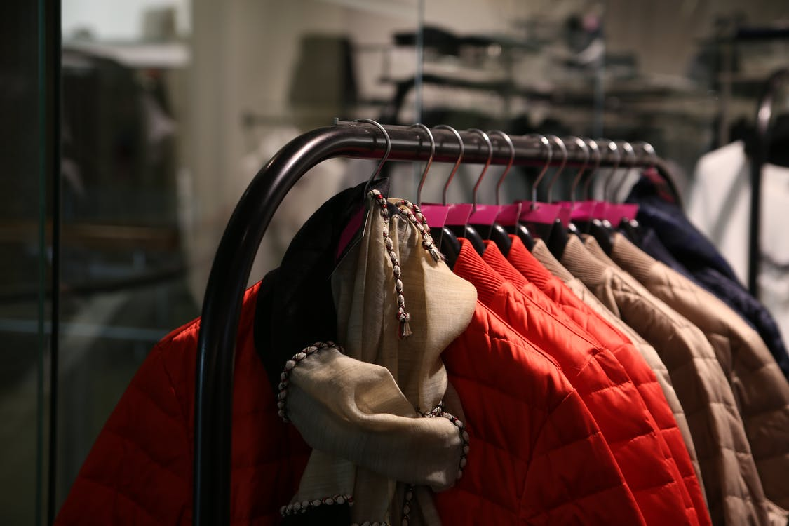 affär, blandad, boutique