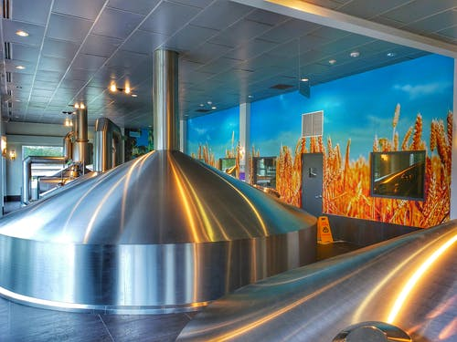 Free stock photo of aluminum, beer, brewery