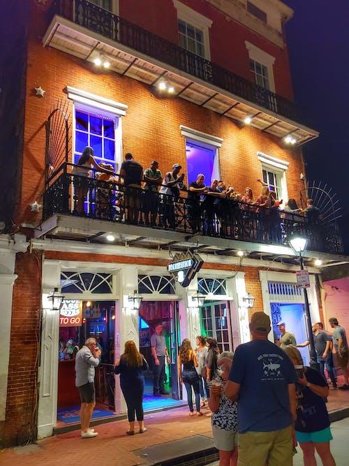 Free stock photo of architecture, bar, bourbon street