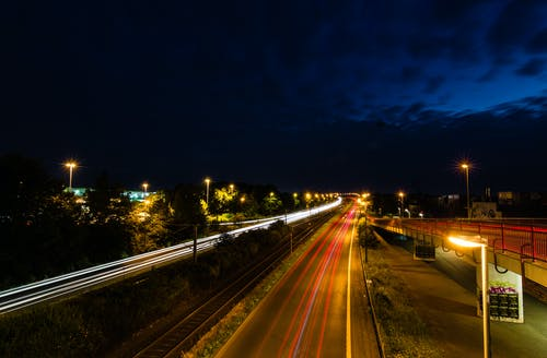 Time Lapse Photography during Nighttime