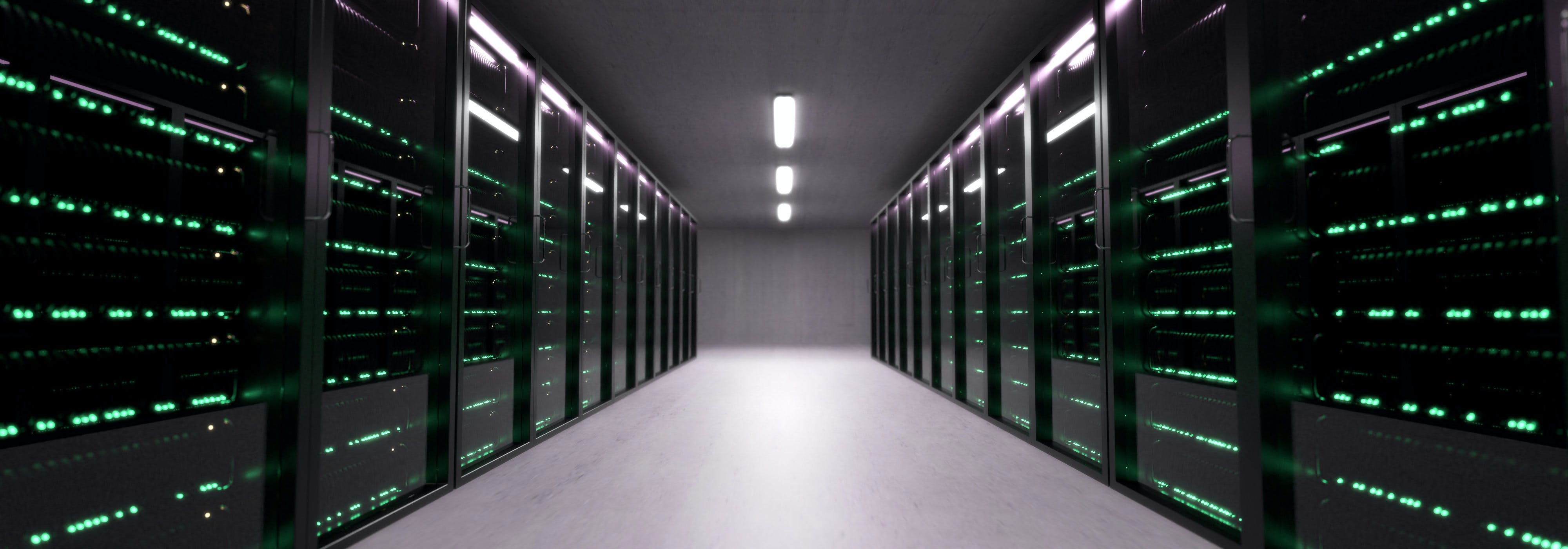 Free stock photo of 3d, server, serverroom, tech