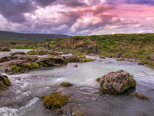 Foto d'estoc gratuïta de aigua, cel, colorit, dramàtic