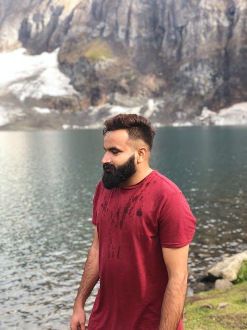 Free Stock Photo Of 4k Wallpaper Azad Kashmir Beard Man