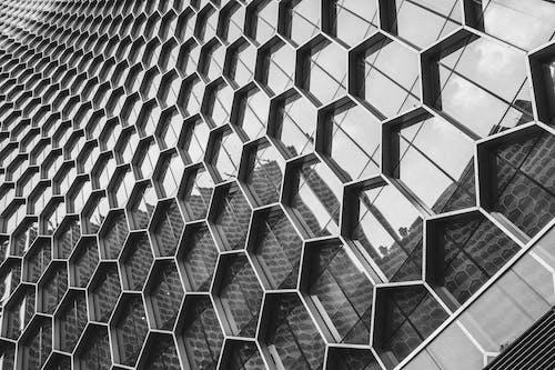 Photos gratuites de abstrait, acier, aluminum, architecture