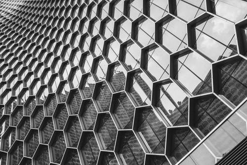 Kostenloses Stock Foto zu abstrakt, aluminium, architektur, chrom