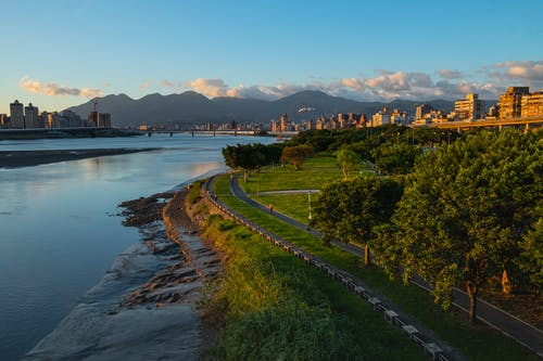 #cityscape, #公園, #台灣, #山 的 免費圖庫相片