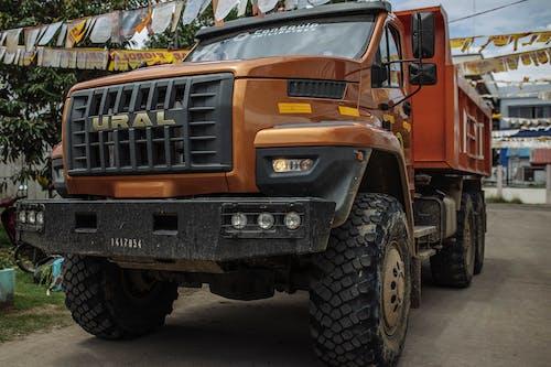 Gratis lagerfoto af lastbil, russisk
