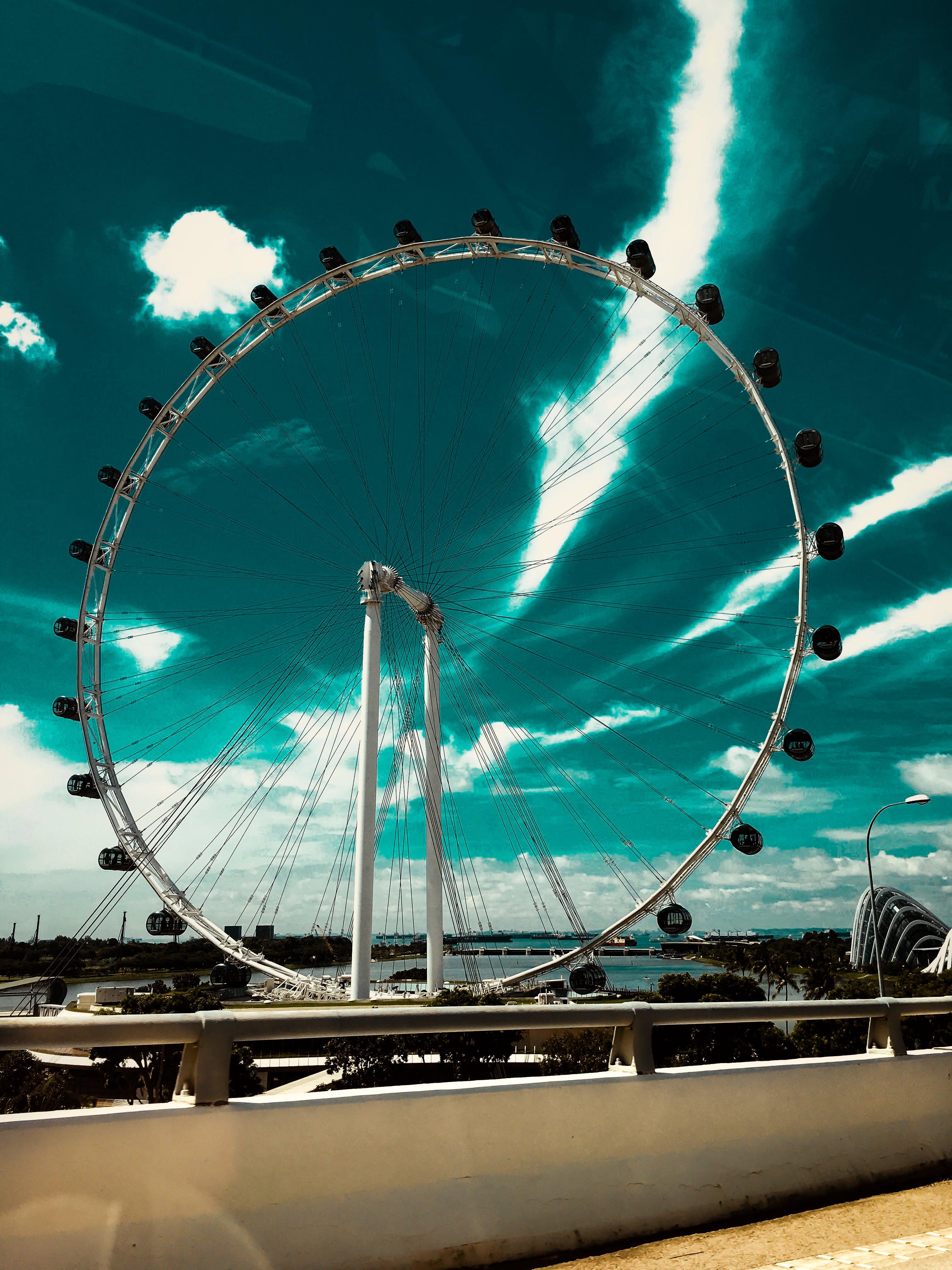 Ferris Wheel Beside the Sea