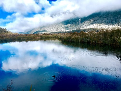 Free stock photo of blue, clouds, fiordland, fiordland national park