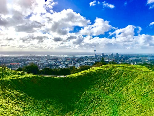 Free stock photo of auckland, blue, city, clouds