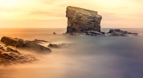คลังภาพถ่ายฟรี ของ ขอบฟ้า, ชายทะเล, ชายหาด, ดราม่า