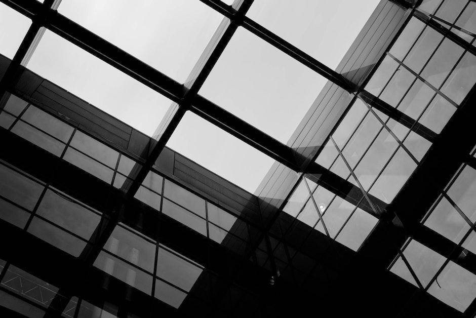 Black and White Skyscrapper Buildings