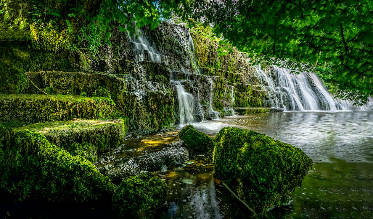 Scenic Photo of a Waterfalls