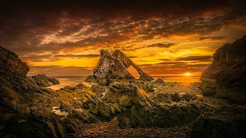 Rock Formation during Golden Hour
