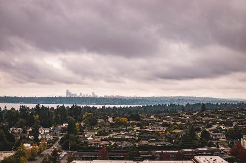 Free stock photo of cloudy, distant skyline, moody