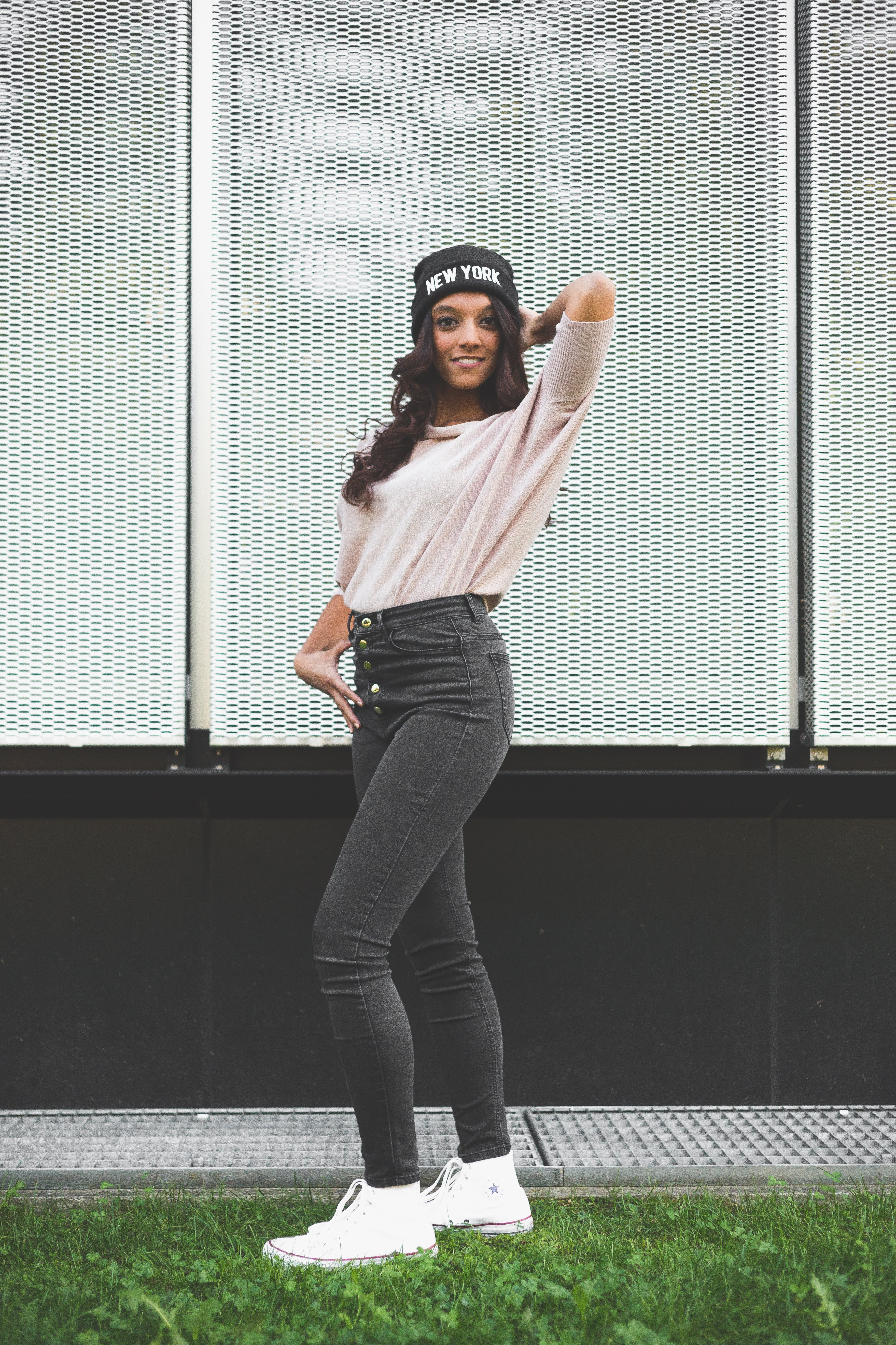 Photo of a Woman Wearing Beanie