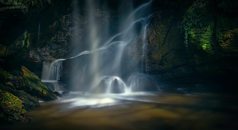 Waterfall Wallpaper · Free Stock Photo