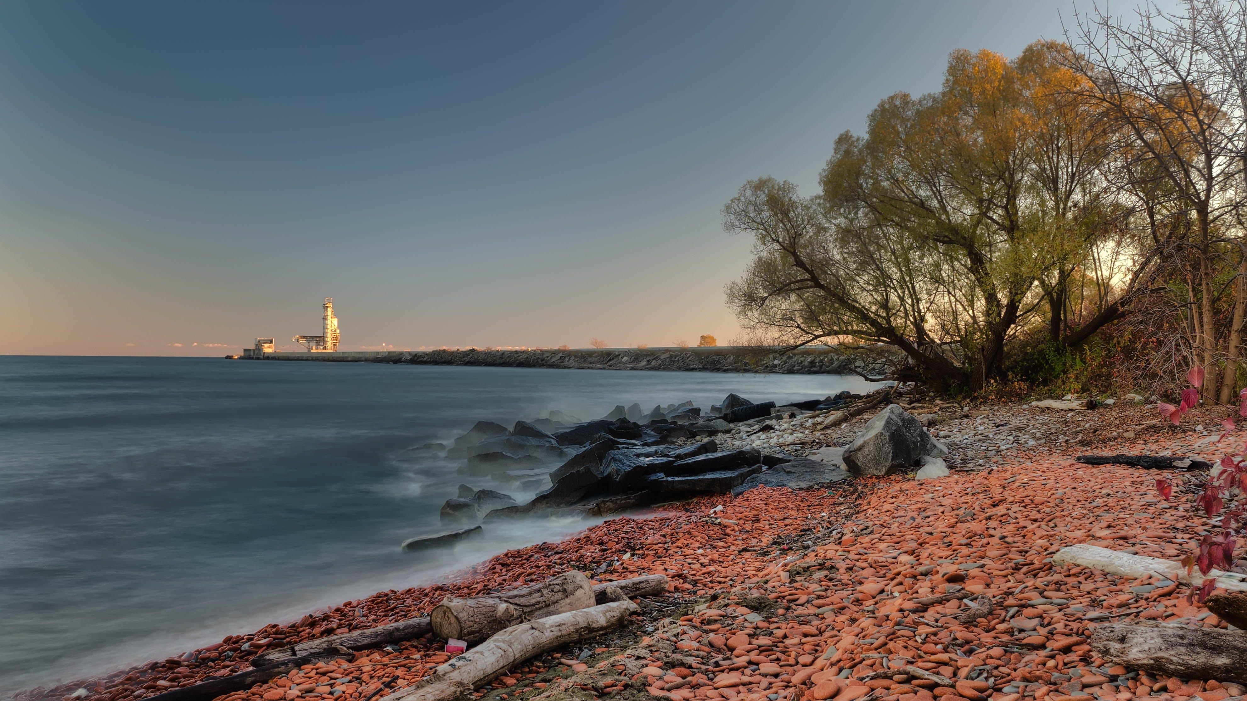 Foto stok gratis air, batu, laut, lautan