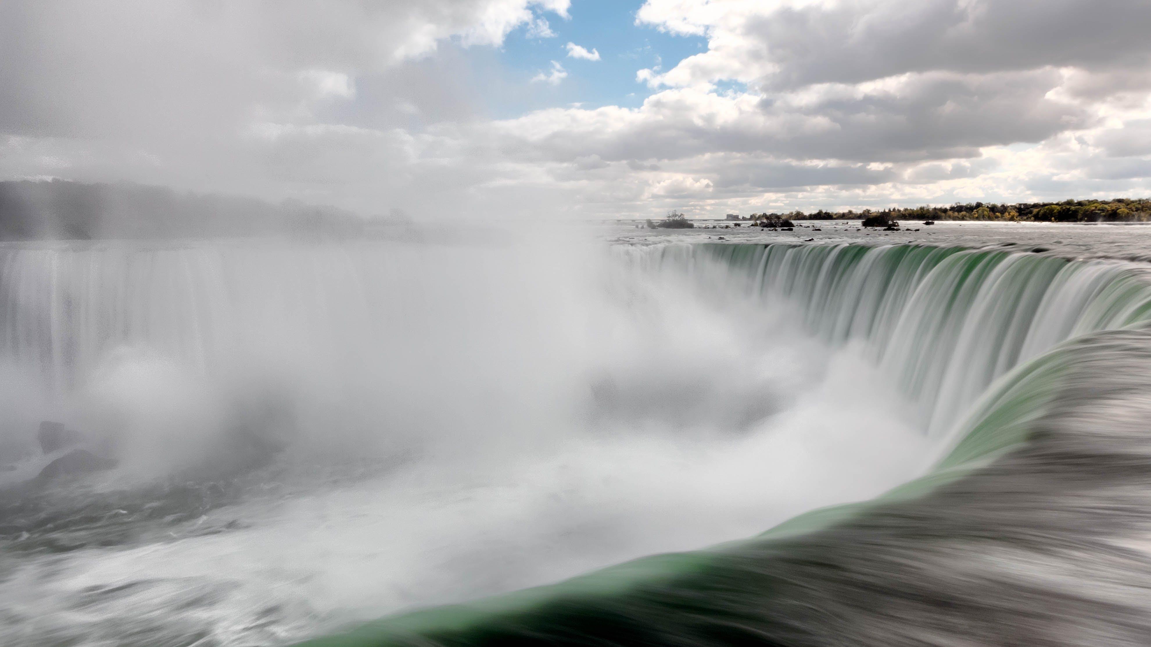 Ingyenes stockfotó csobbanás, ég, felhők, Niagara-vízesés témában