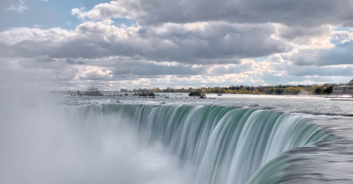 Free Stock Photo Of Clouds Landscape Niagara Falls