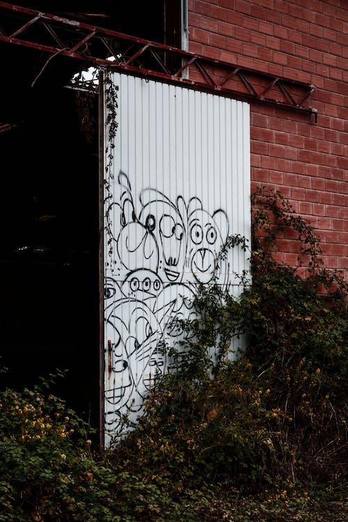 Imagine de stoc gratuită din abandonat, caracters, clădire, graffiti