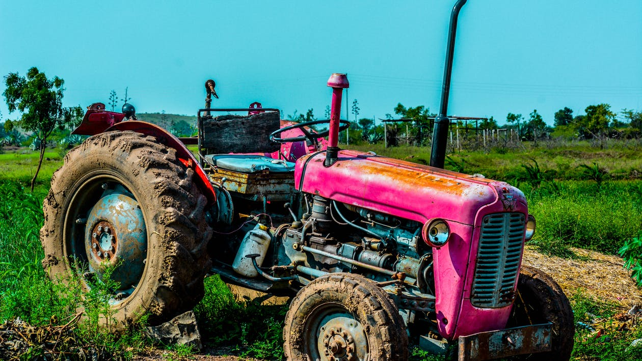 agricultural machine, construction, daylight