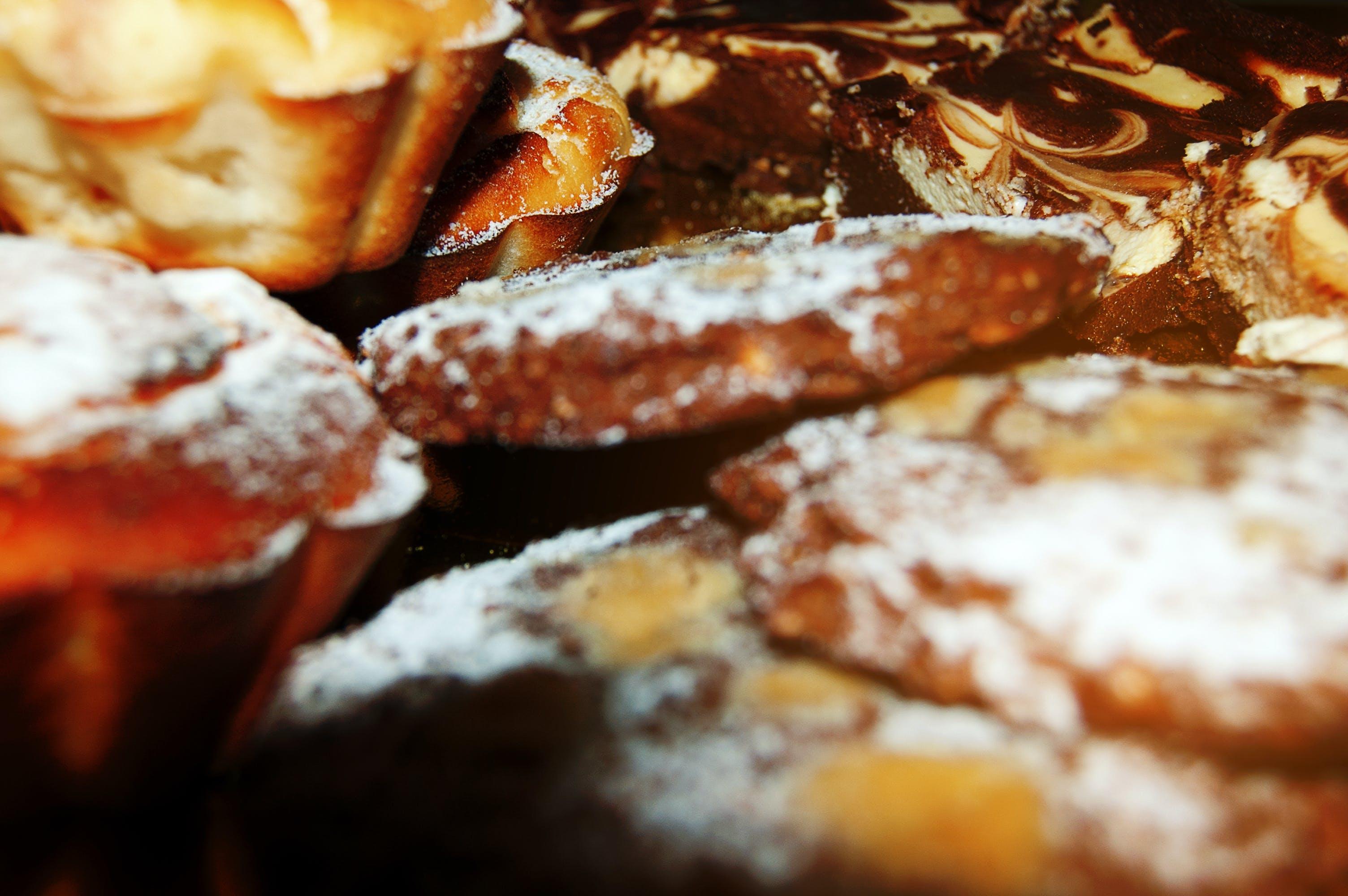 Δωρεάν στοκ φωτογραφιών με μπισκότα με κομμάτια σοκολάτας