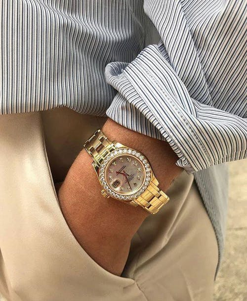 Free stock photo of dress shirt, dressed up, rolex