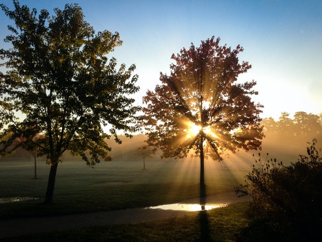 Kostenloses Stock Foto zu dämmerung, landschaft, natur, sonnenuntergang