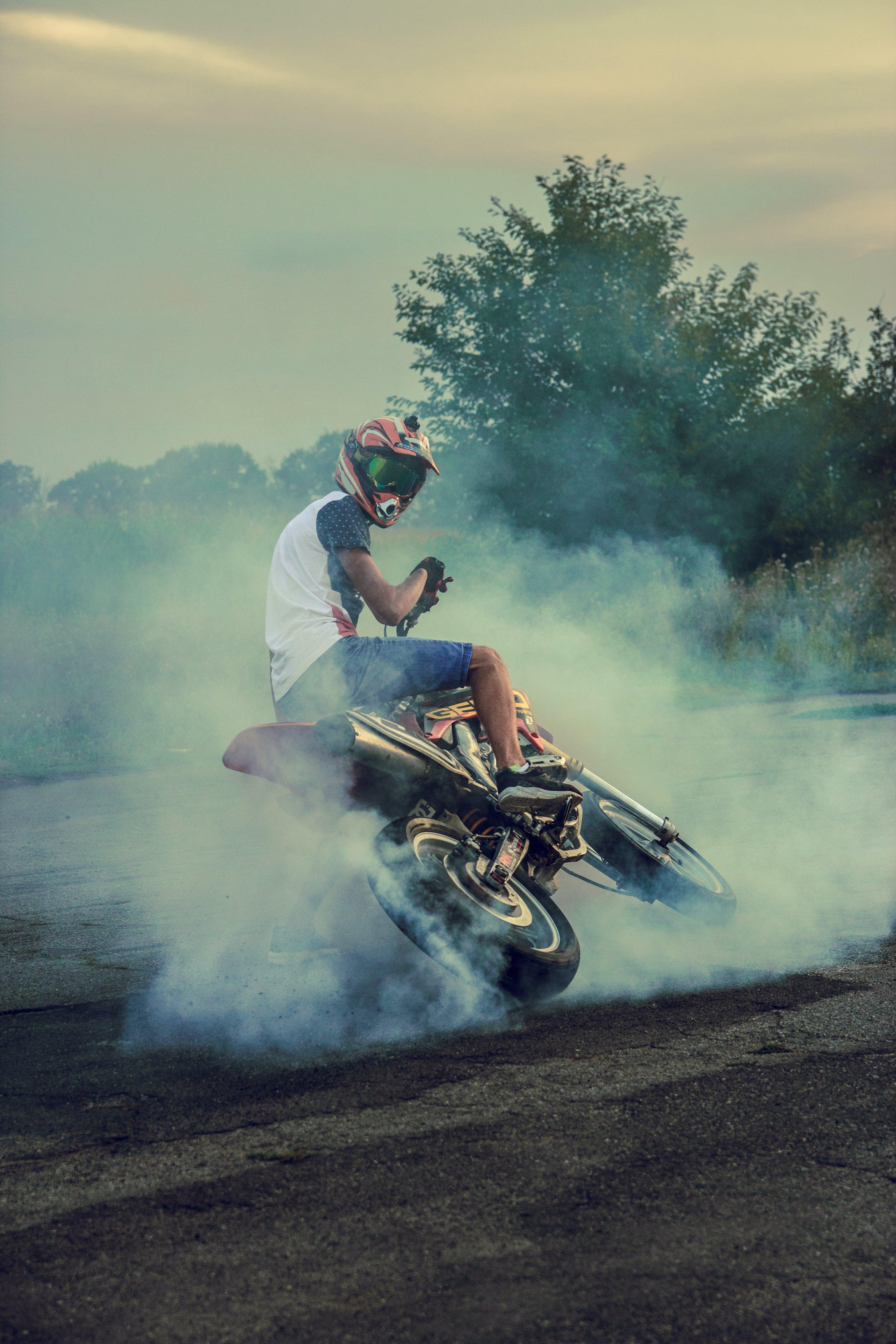 Free stock photo of moto, moto racing, motocross, motor bike