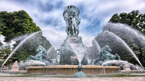 像, 噴水, 建築, 彫刻の無料の写真素材