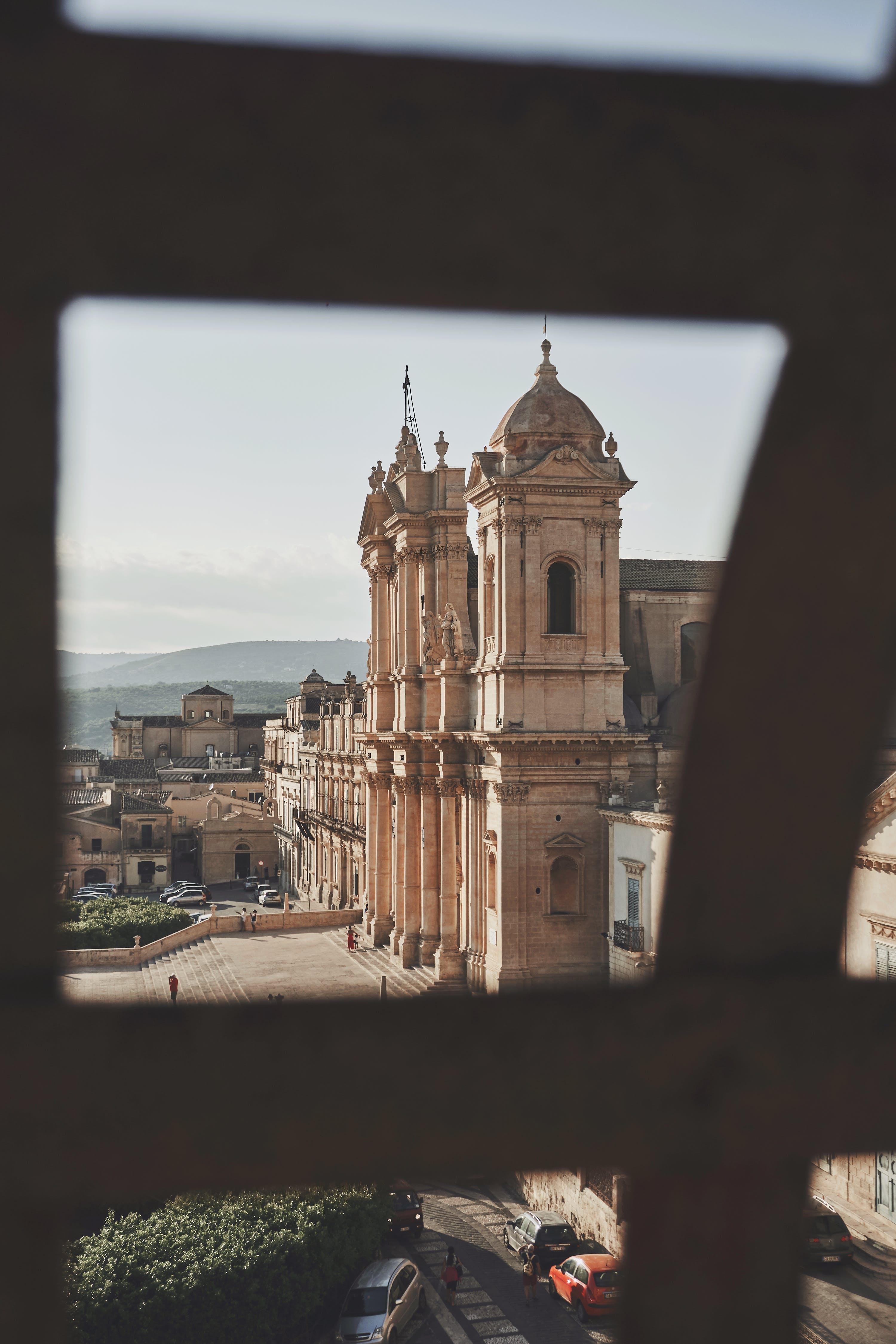 古老的, 大教堂, 巴洛克, 建造 的 免费素材照片