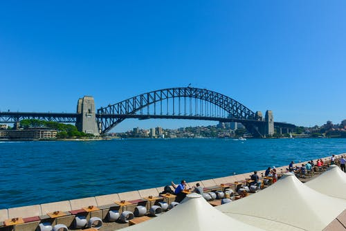 Gratis arkivbilde med #sydneyharbour #harbourbridge #australia
