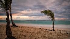 sea, sunset, beach