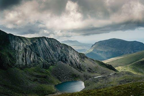 Бесплатное стоковое фото с HD-обои, вершина, вода, горный пик