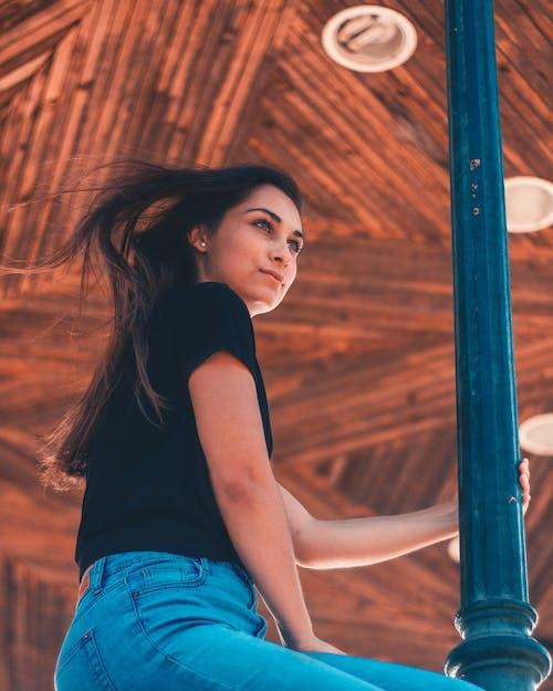 Photos gratuites de adulte, brune, cheveu, cheveux longs
