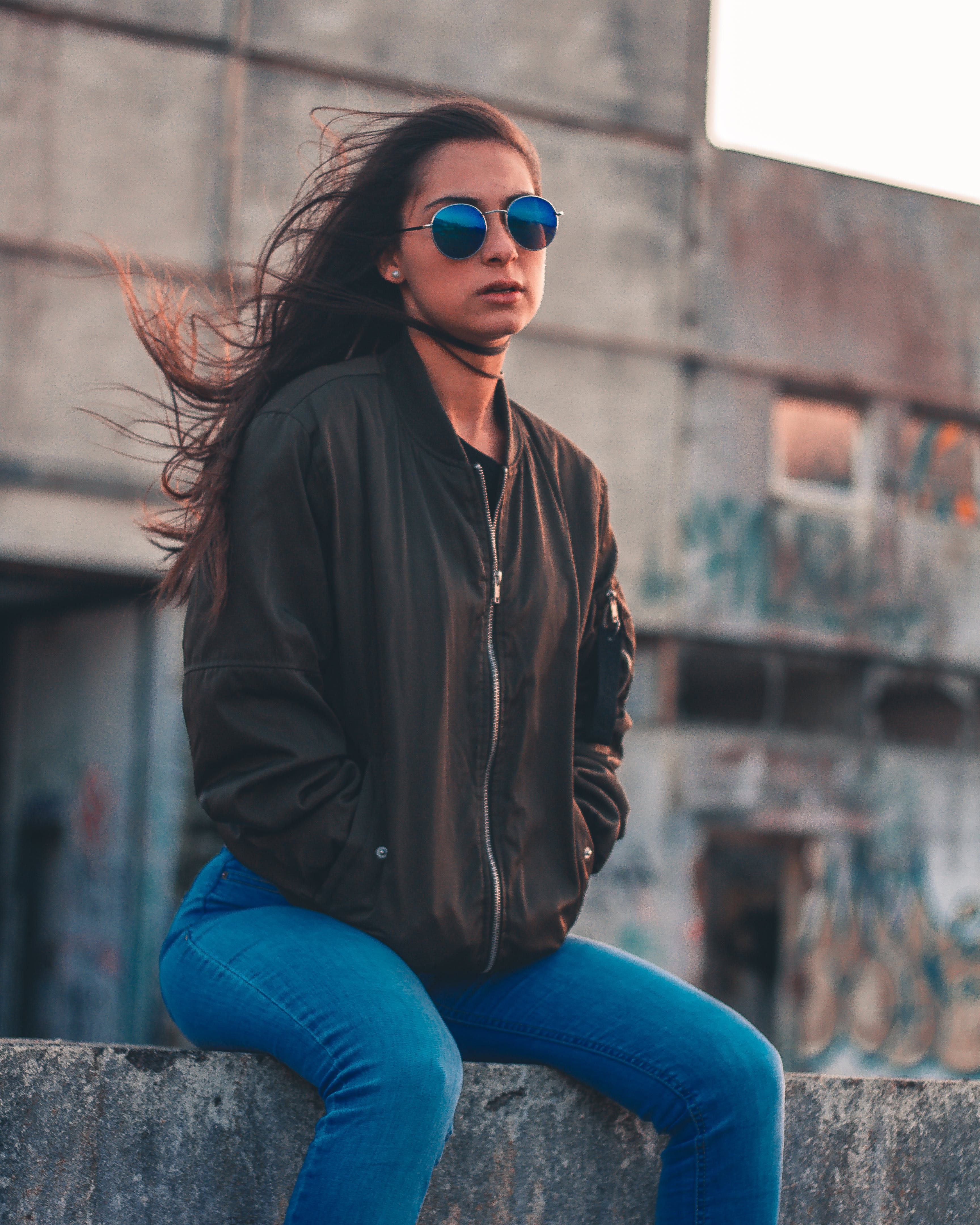 Free stock photo of person, sunglasses, woman, girl