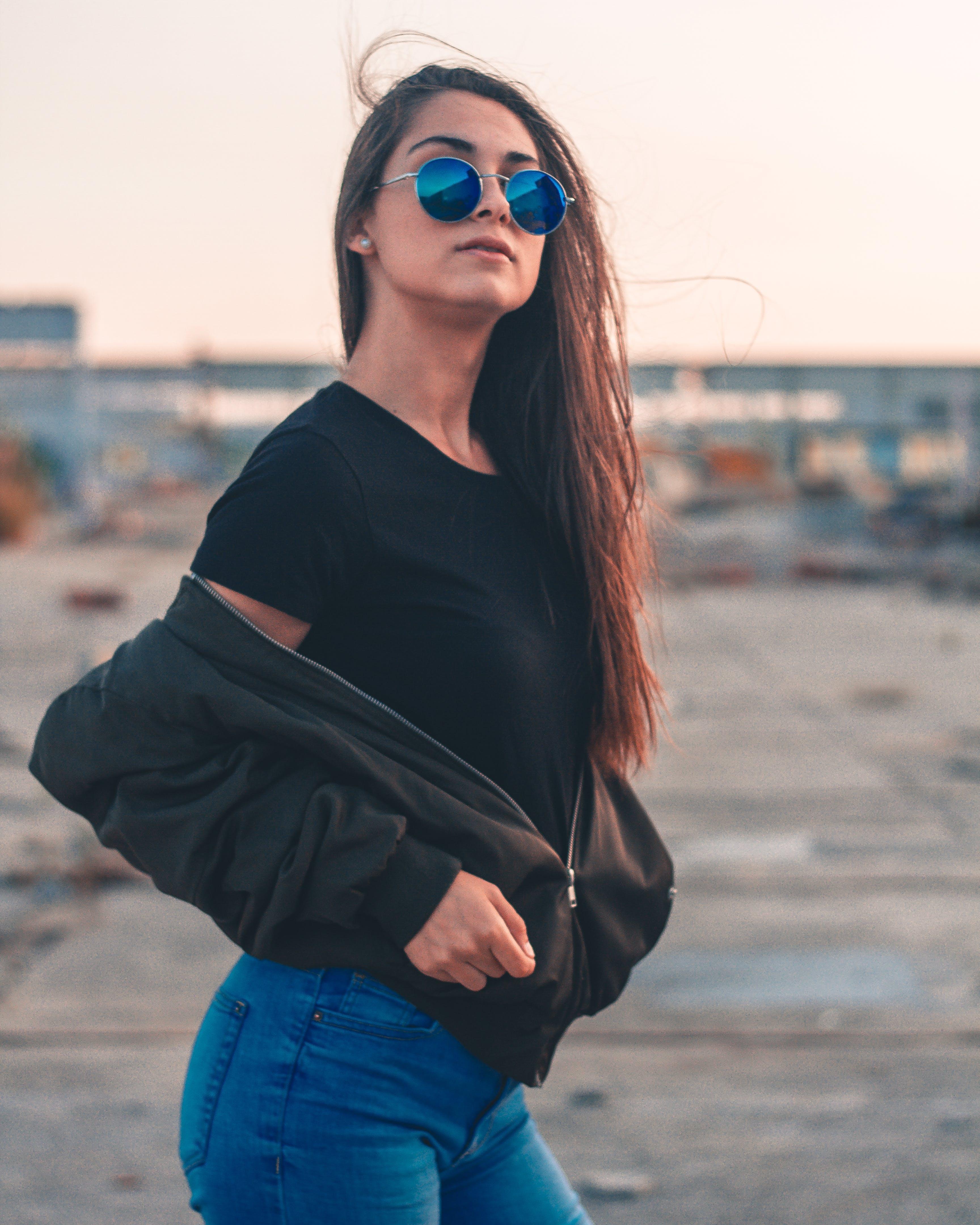 Free stock photo of fashion, person, sunglasses, woman